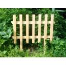 Деревянный заборчик (прямой)